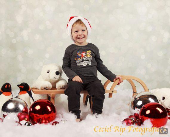 Kerst fotoshoots voor kinderen, Ceciel Rip Fotografie