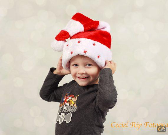 kerst fotoshoot voor kinderen