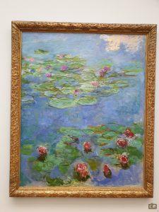 Monet, kunstmuseum Den Haag, waterlelies