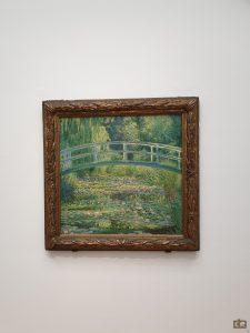 Monet, kunstmuseum Den Haag waterlelies, bruggetje