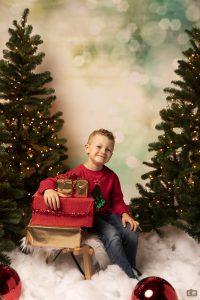 Kerstfotoshoots kinderen Ceciel Rip Fotografie